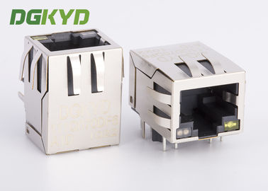 Single Rj45 Ethernet Jack tích hợp Transformer / Common Mode Choke, Og / Y Led